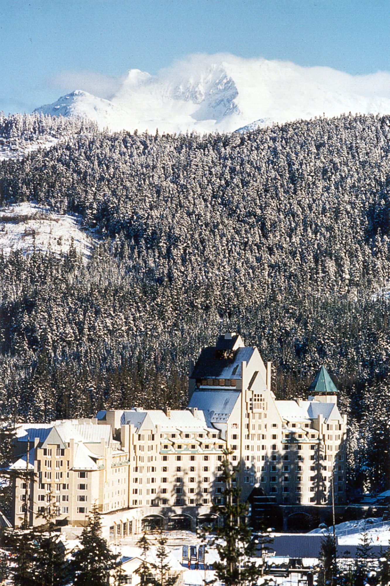 Chateau Whistler Mcmp Architects